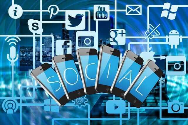 lajky sociálne siete