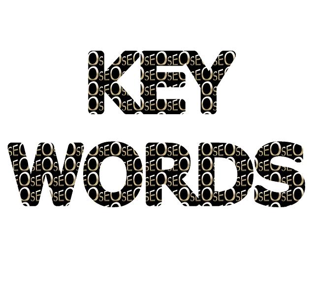 kľúčové slová